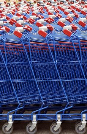 close up of market cart Stock Photo - 12763372