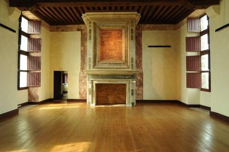 Frankrijk, de renaissance kasteel van Cadillac in de Gironde