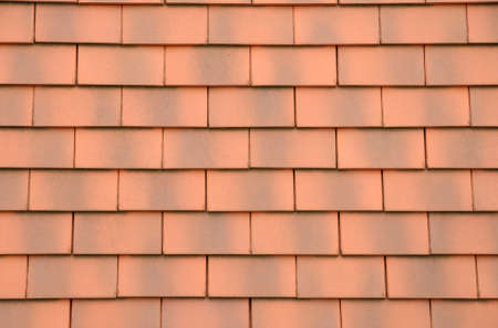 horizontal picture of tiles on a roof photo