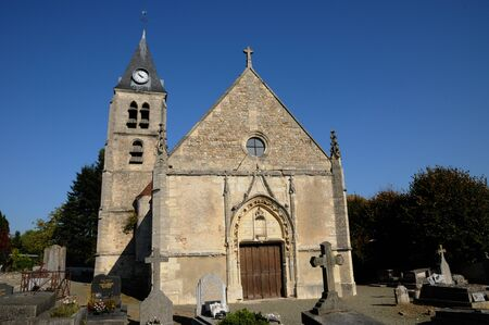 en: Ile de France, the old church of Villers en Arthies
