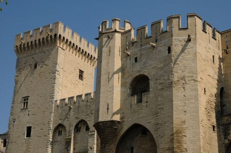 France, Le Palais Des Papes in Avignon Stock Photo - 12877858