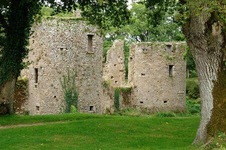 ramparts: France, the castle of Ranrouet in Herbignac