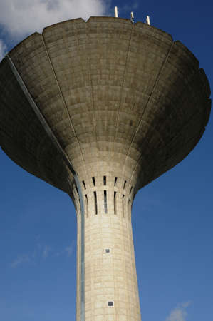 the water tower: water tower of Les Mureaux in France
