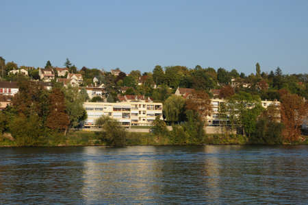France, the city of Triel sur Seine Stock Photo - 13340442