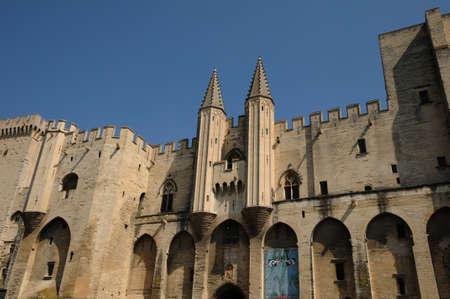 France, Le Palais Des Papes in Avignon Stock Photo - 13021338