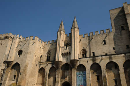 France, Le Palais Des Papes in Avignon Stock Photo - 13021338