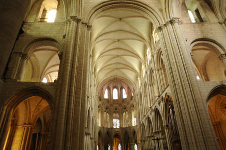 abbaye: Caen, the abbaye aux Hommes in Normandie