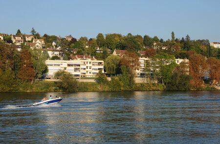 France, the city of Triel sur Seine Stock Photo - 13140917