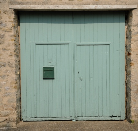 puerta verde: Francia, puerta verde viejo