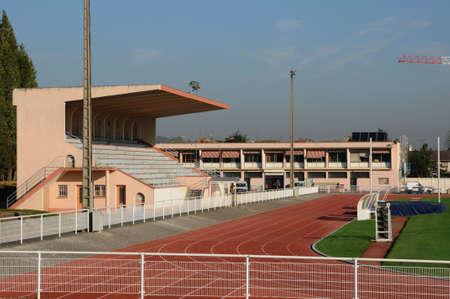 les: France, the stadium of Les Mureaux