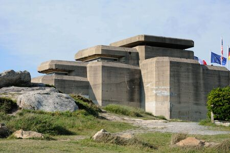 France, Le Grand Blockhaus in Batz sur Mer  Stock Photo - 13226337