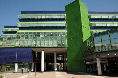pontoise: France, hotel d agglomeration in Cergy Pontoise