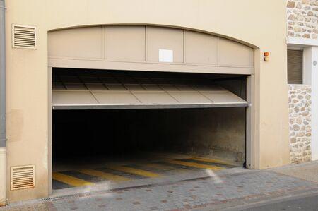 Ile-de-France, un parking à Vaureal
