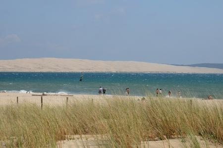 France, la plage du Cap Ferret