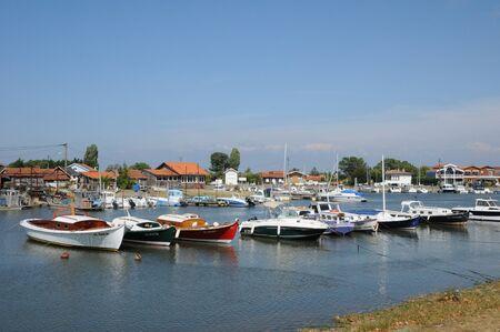 buch: France, oyster farming village of La Tete de Buch Editorial