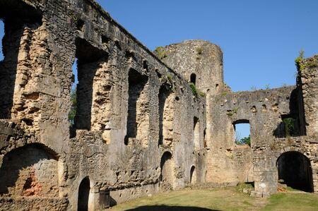 gironde: castle of Villandraut in Gironde