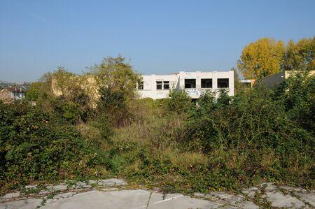 industrial wasteland: France, industrial wasteland in Les Mureaux