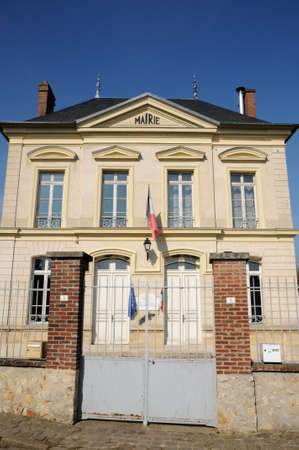 Ile de France, the city hall of Themericourt