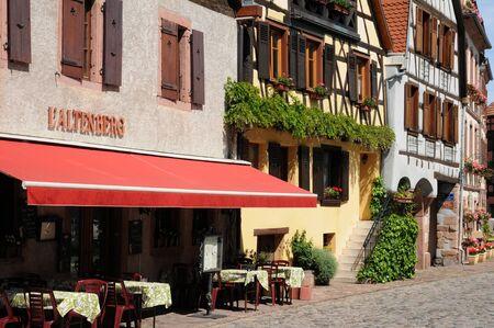 haut rhin: Haut Rhin, the village of Bergheim  in Alsace