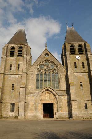 collegiate: the collegiate church of Ecouis in l Eure