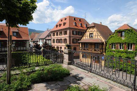 haut: Haut Rhin, the village of Bergheim  in Alsace