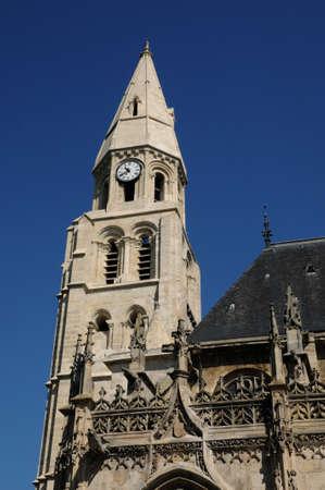 collegiate: France, collegiate church of Poissy in Les Yvelines