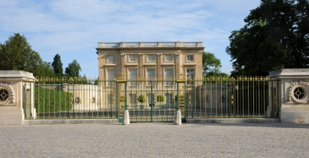 petit: Le Petit Trianon in the park of Versailles Palace Editorial