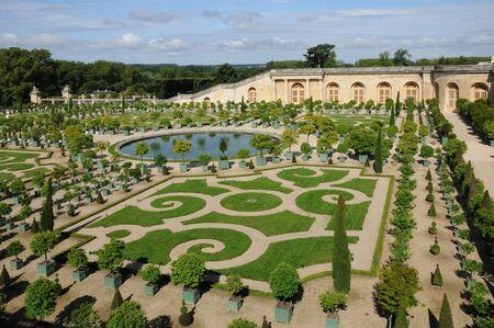 garden of the Versailles palace Orangery Publikacyjne