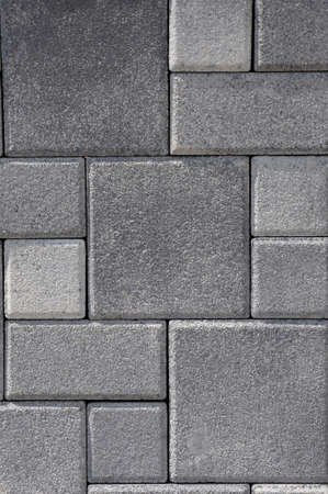pave: flagstone for paving in a garden Stock Photo