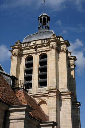 pontoise: Ile de France, the Notre Dame church in Pontoise
