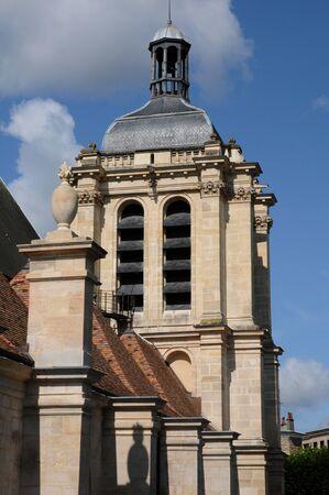 pontoise: church notre Dame in Pontoise