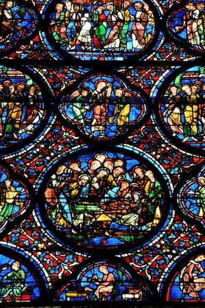 Centre, la cathédrale de Chartres en Eure et Loir