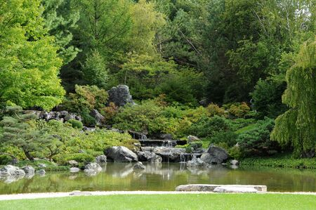 Canada, Quebec, Ja panese garden in the Botanical Garden of Montreal photo