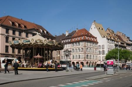 gutenberg: France, Alsace, La Place Gutenberg in Strasbourg Editorial