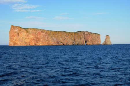 touristy: Canada, Quebec, Perce Rock in Gaspesie