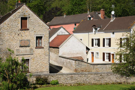 val: France, the village of Boisemont in Val d Oise Editorial