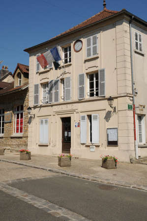 municipality: Ile de France, the city hall of Evecquemont