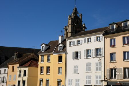 pontoise: France, the town of Pontoise in Val d Oise