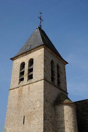 les: church Saint-Eloi in Les Menuls