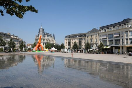 et: France, Place des epars in Chartres in Eure et Loir   Editorial