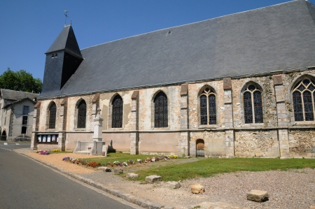 et: France, the church of Saint Piat in Eure et Loir