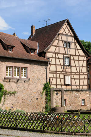 haut rhin: France, the village of  Turckheim in Haut Rhin