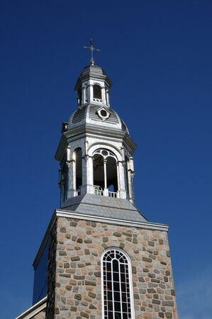 bonne: Canada, Quebec, the historical church of Bonne Aventure   Stock Photo