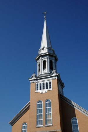 bonne: Canada, Quebec, the historical church of Saint Simeon Bonne Aventure