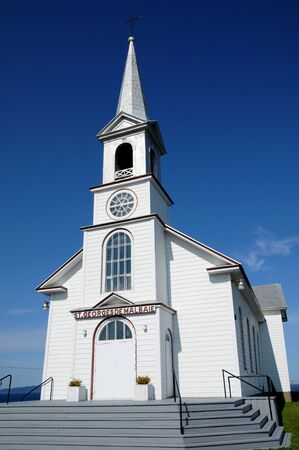georges: Canada, Quebec, the historical church of Saint Georges de Malbaie