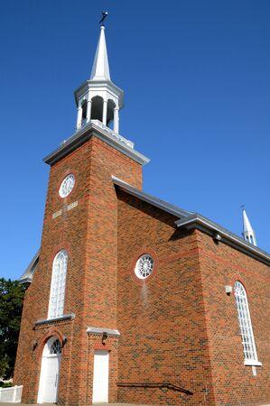 bonne: Canada, Quebec, the historical church of  New Richmond
