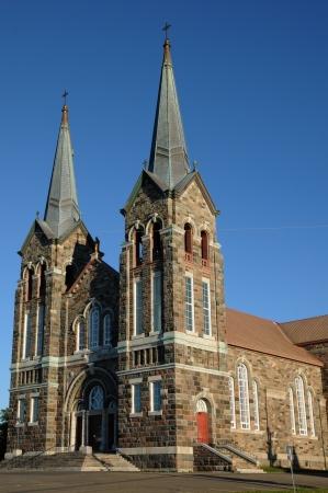anne: Canada, Quebec, the historical church of  Sainte Anne des monts