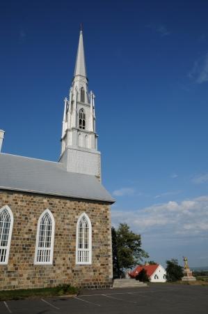 laurent: Canada, Quebec, the historical church of  Saint Denis in Bas Saint Laurent