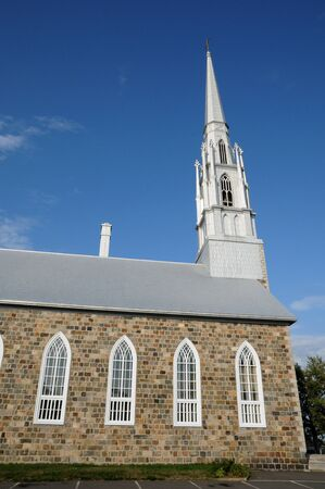 laurent: Canada, Quebec, the historical church of  Saint Denis in Bas Saint Laurent