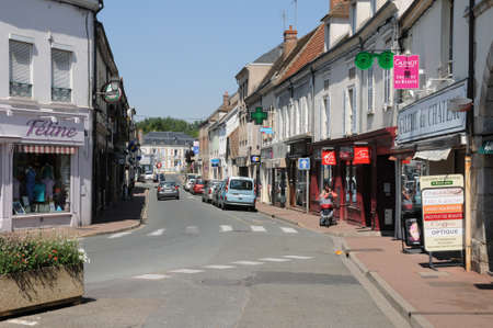 et: France, the village of Maintenon in Eure et Loir